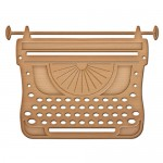 Ножі Spellbinders Typewriter IN-022