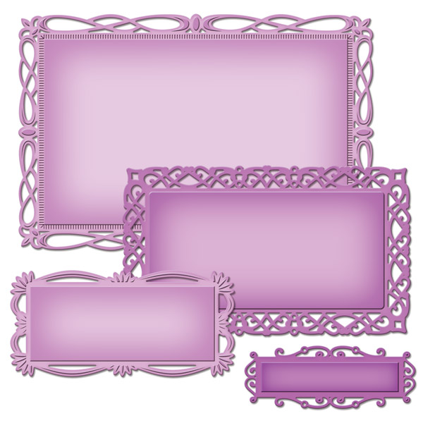 Romantic Rectangles Two S5-211